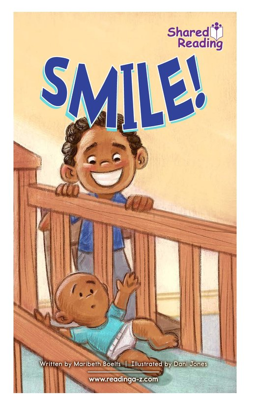 Book Preview For Smile! Page 1