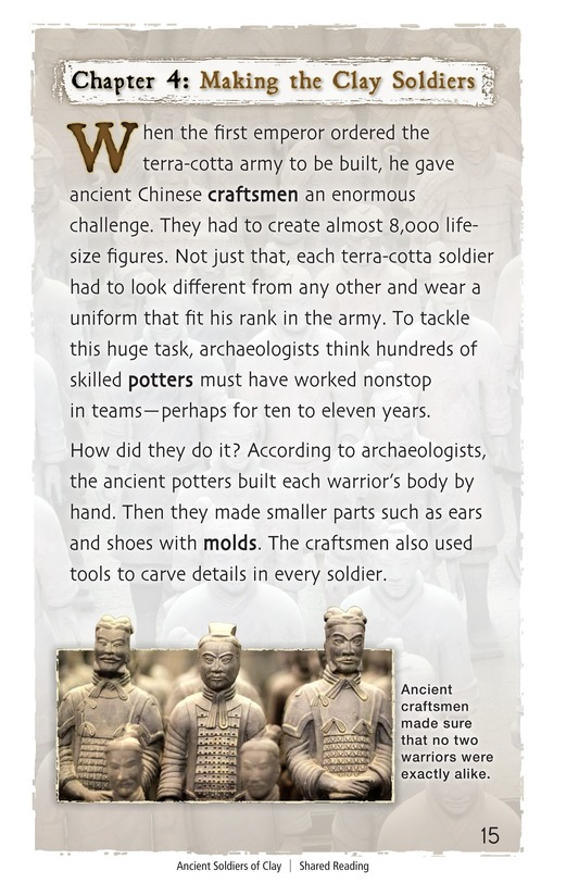Book Preview For Ancient Soldiers of Clay Page 15