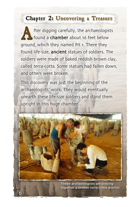 Book Preview For Ancient Soldiers of Clay Page 6