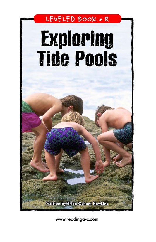 Book Preview For Exploring Tide Pools Page 1