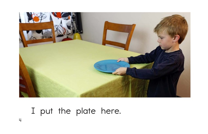 Book Preview For I Set the Table Page 4