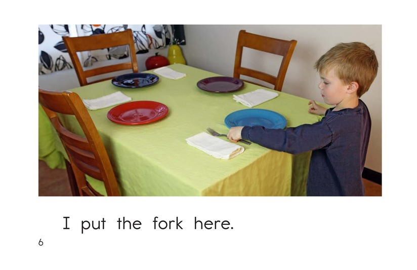 Book Preview For I Set the Table Page 6