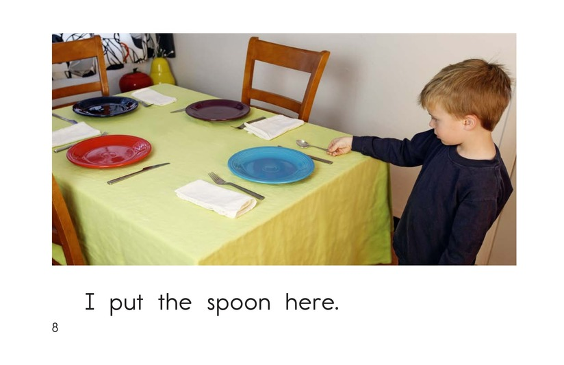 Book Preview For I Set the Table Page 8