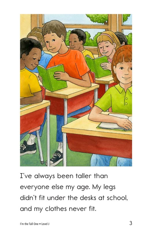Book Preview For I'm the Tall One Page 3
