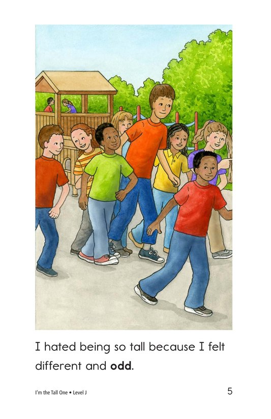 Book Preview For I'm the Tall One Page 5