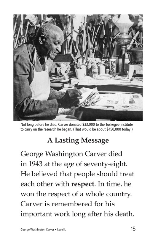 Book Preview For George Washington Carver Page 15