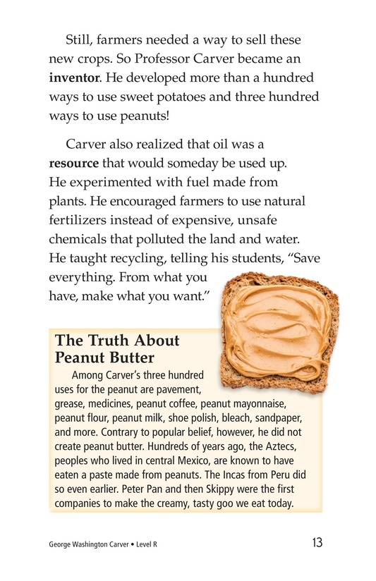 Book Preview For George Washington Carver Page 13