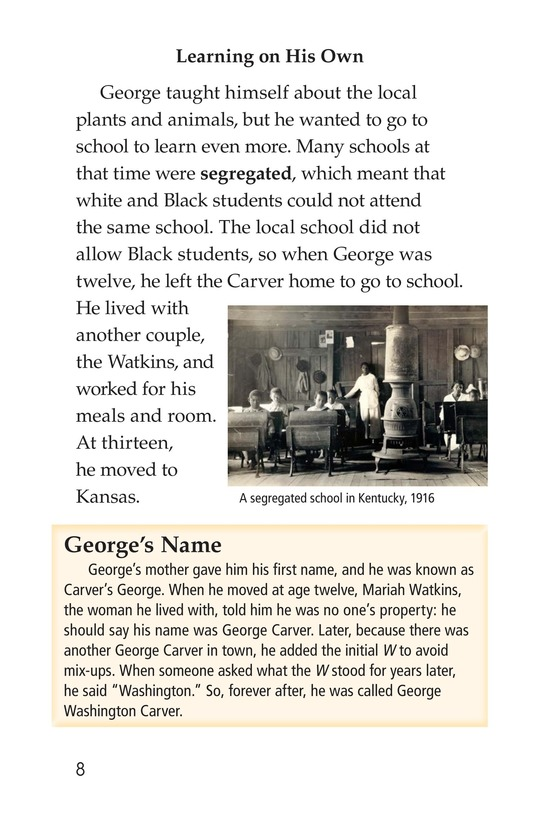 Book Preview For George Washington Carver Page 8