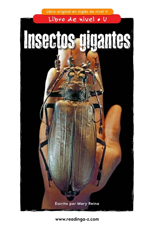 Book Preview For Giant Insects Page 1