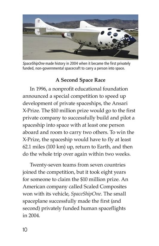 Book Preview For Private Spaceships Page 10