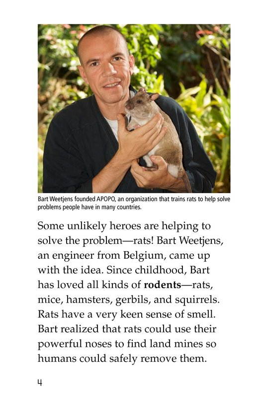 Book Preview For HeroRATs: Rats Who Save Lives Page 4