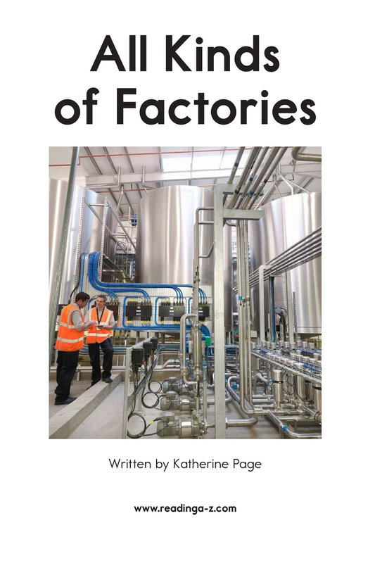 Book Preview For All Kinds of Factories Page 2