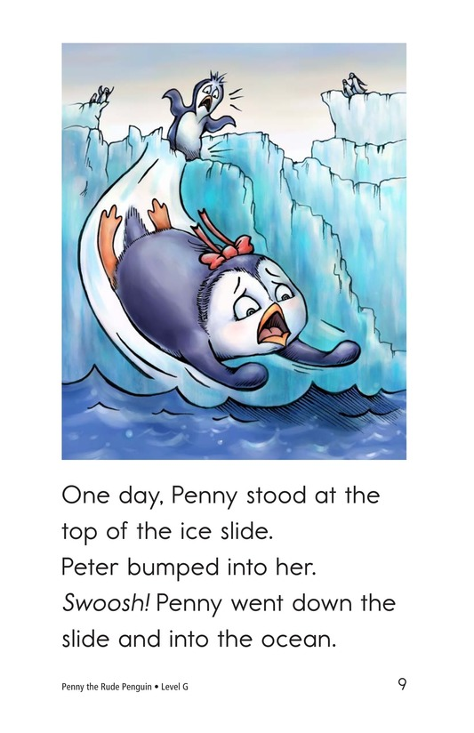 Book Preview For Penny the Rude Penguin Page 9