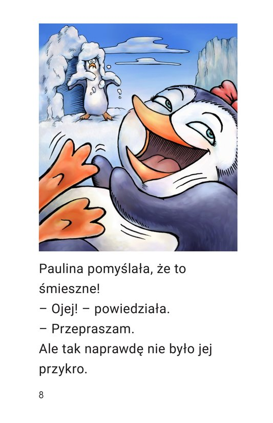 Book Preview For Penny the Rude Penguin Page 8
