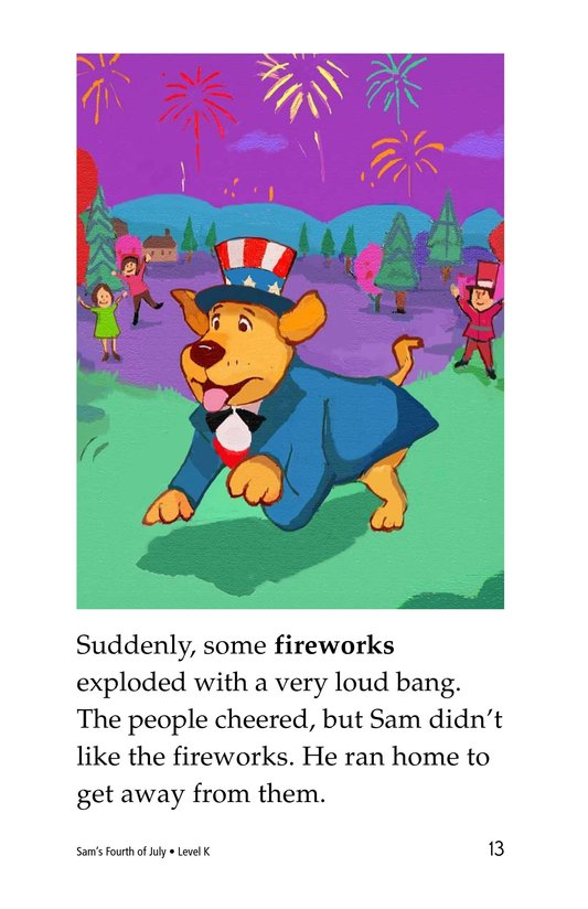 Book Preview For Sam's Fourth of July Page 13