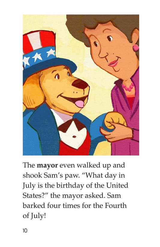 Book Preview For Sam's Fourth of July Page 10