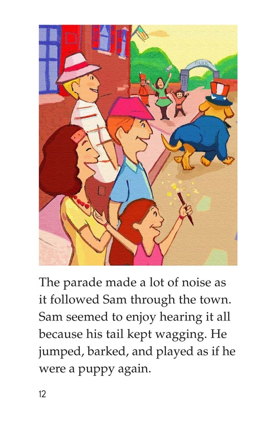 Book Preview For Sam's Fourth of July Page 12