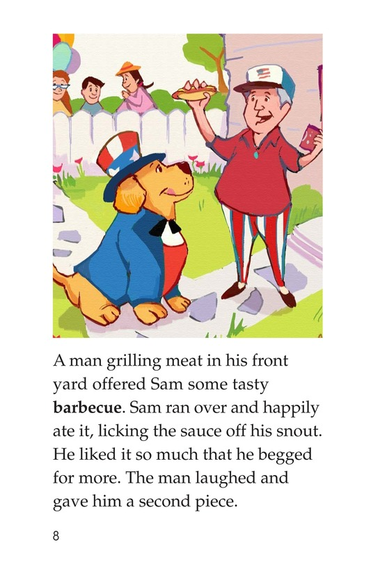 Book Preview For Sam's Fourth of July Page 8