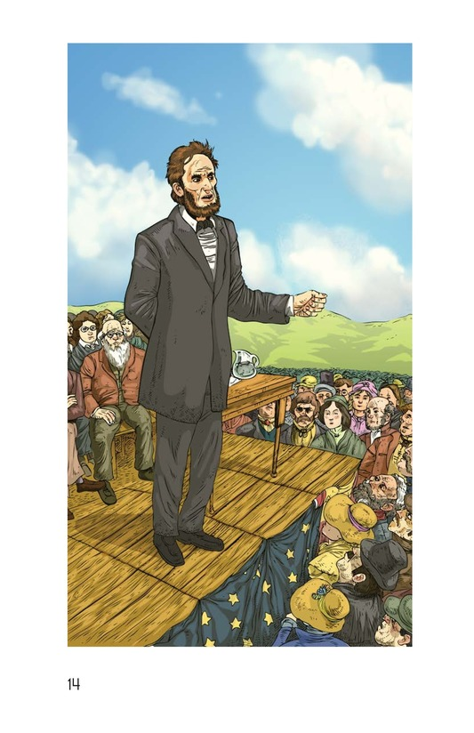 Book Preview For The Gettysburg Address Page 14
