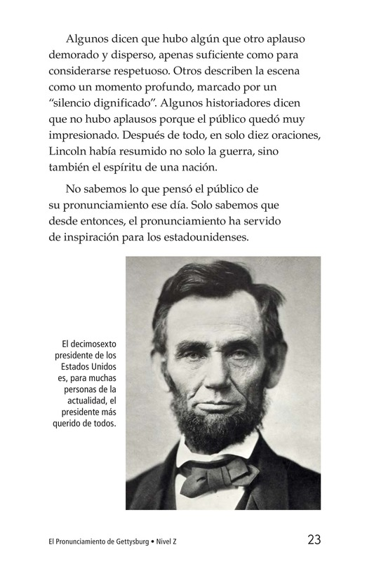 Book Preview For The Gettysburg Address Page 23