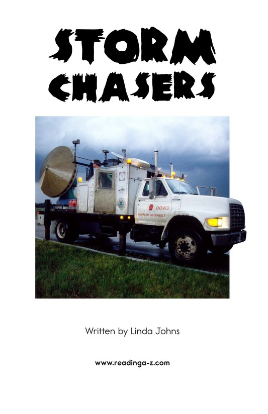 Book Preview For Storm Chasers Page 2