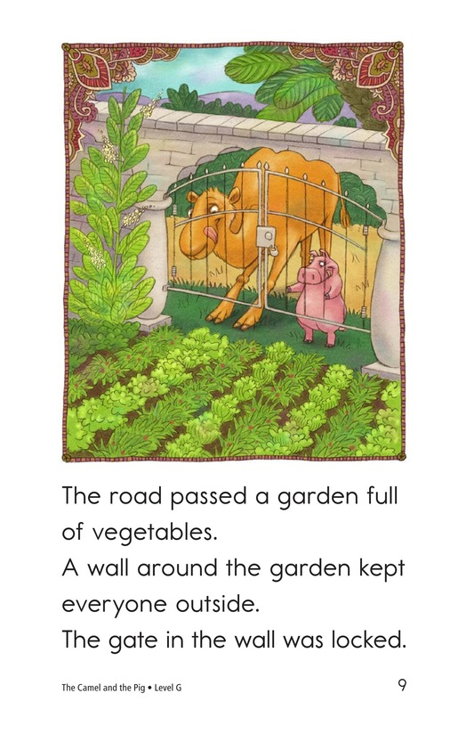 Book Preview For The Camel and the Pig Page 9