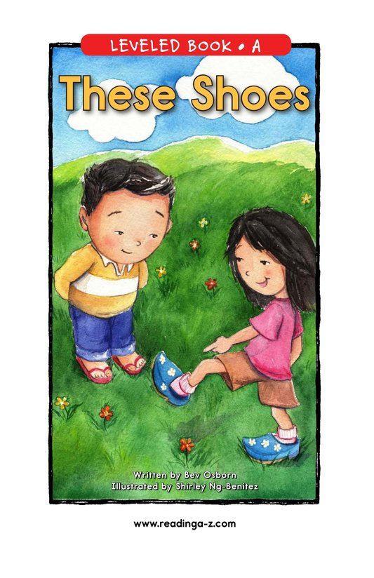 Book Preview For These Shoes Page 1