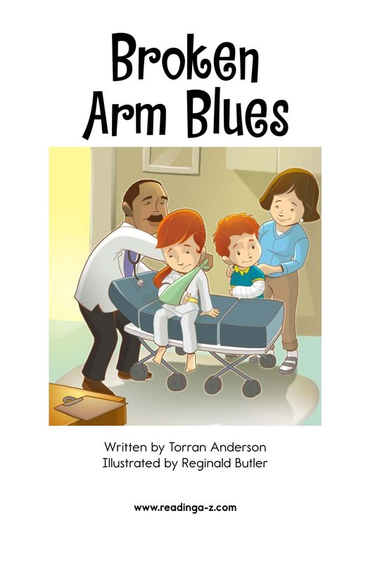 Book Preview For Broken Arm Blues Page 2