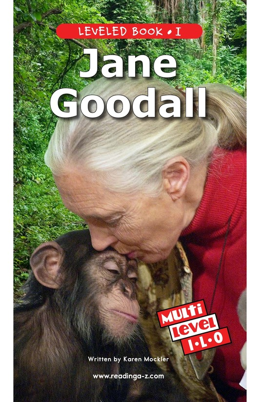 Book Preview For Jane Goodall Page 1