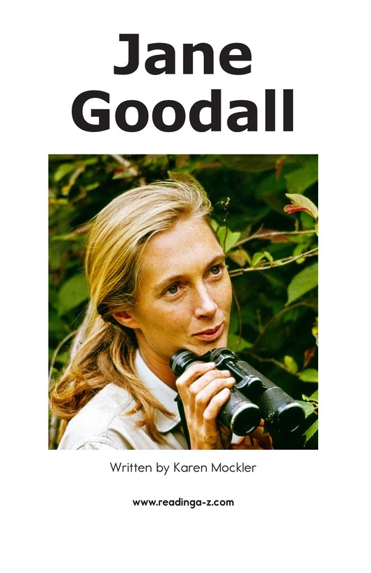 Book Preview For Jane Goodall Page 2