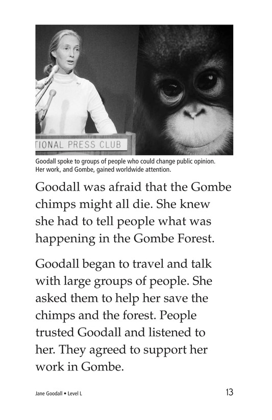 Book Preview For Jane Goodall Page 13