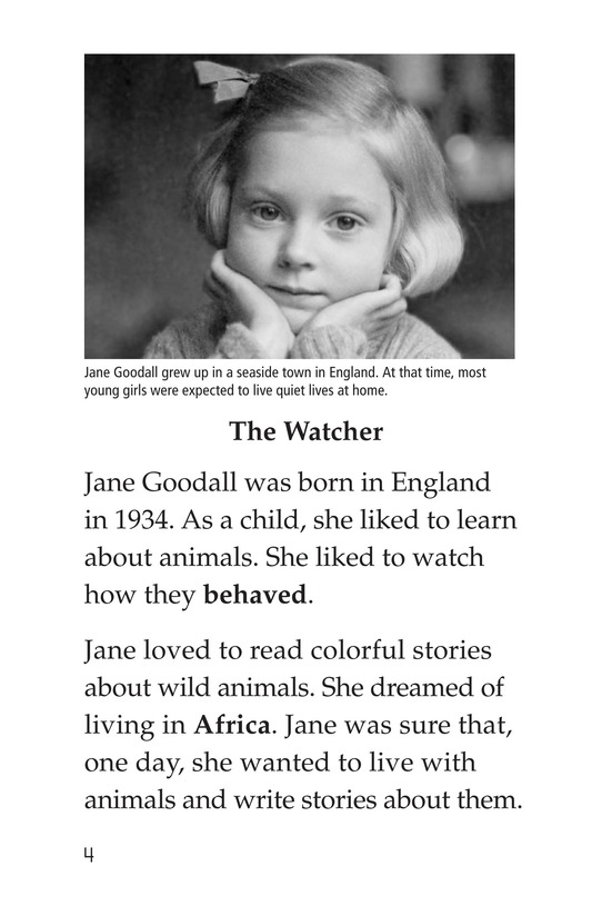 Book Preview For Jane Goodall Page 4