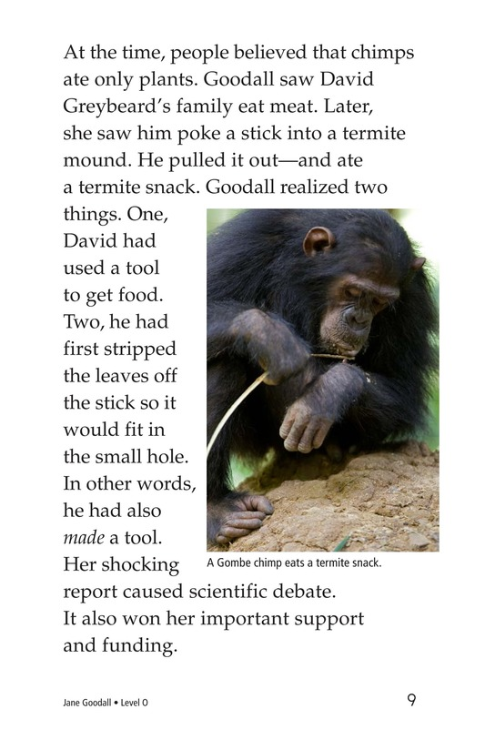 Book Preview For Jane Goodall Page 9