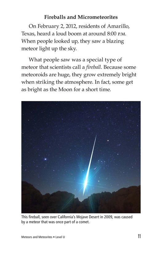 Book Preview For Meteors and Meteorites Page 11