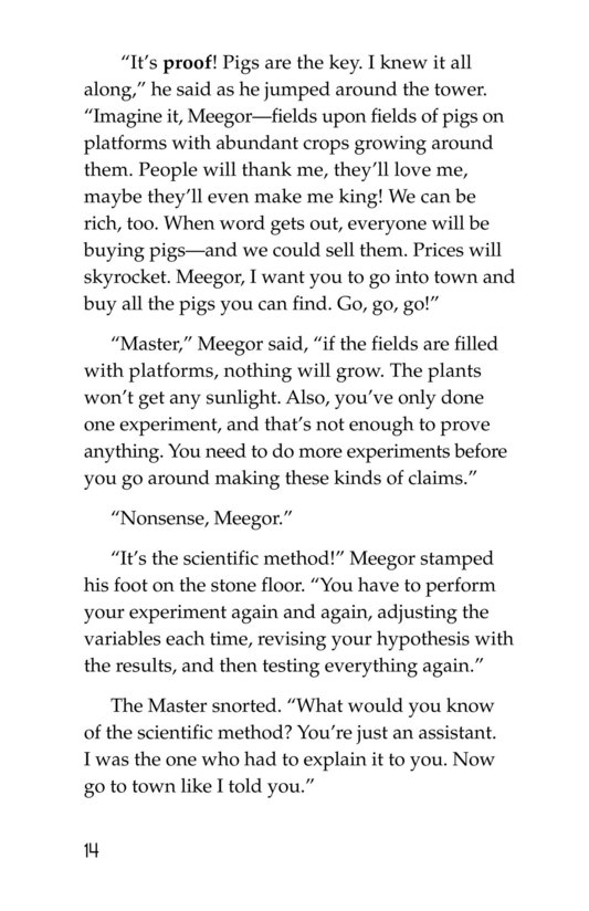Book Preview For Meegor and the Master Page 14