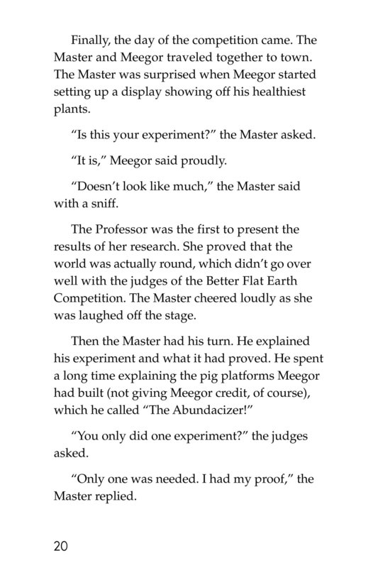 Book Preview For Meegor and the Master Page 20
