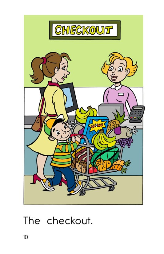 Book Preview For The Supermarket Page 10