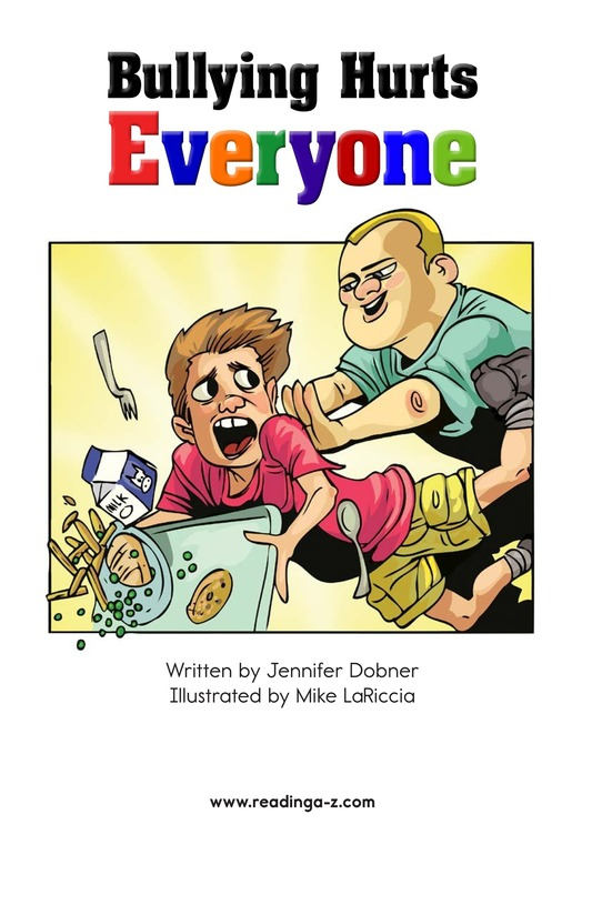 Book Preview For Bullying Hurts Everyone Page 1