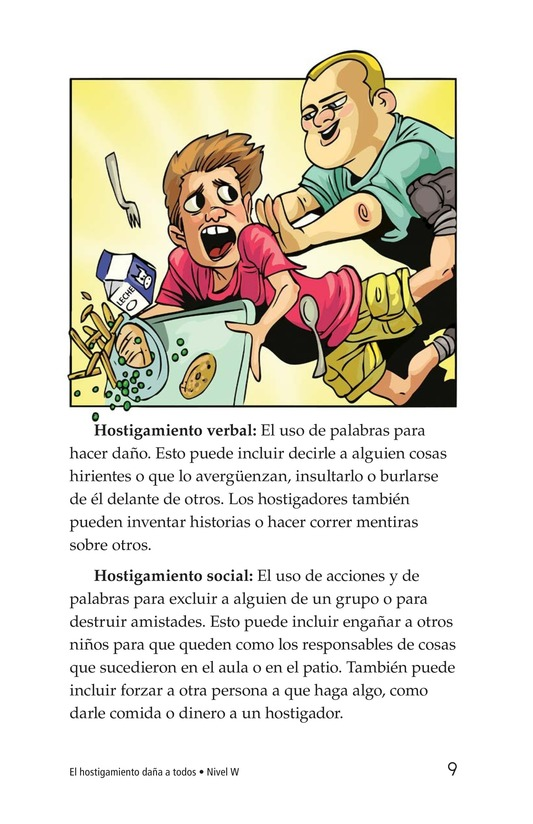 Book Preview For Bullying Hurts Everyone Page 9