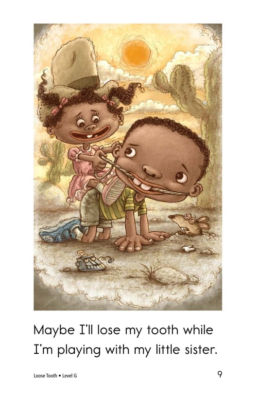 Book Preview For Loose Tooth Page 9