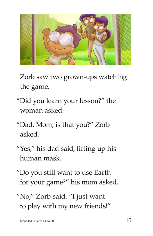 Book Preview For Grounded to Earth Page 15