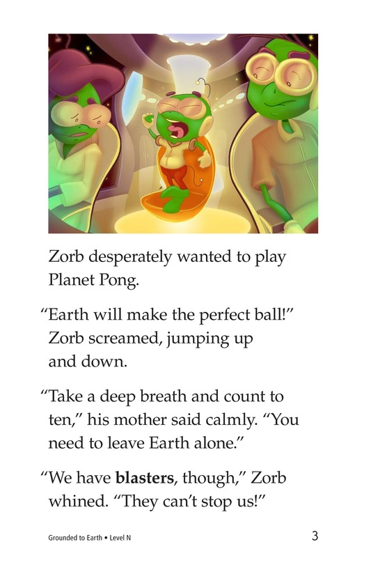 Book Preview For Grounded to Earth Page 3