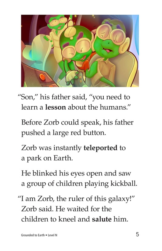Book Preview For Grounded to Earth Page 5