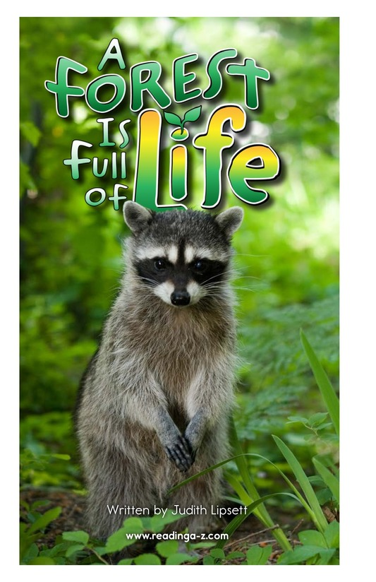 Book Preview For A Forest Is Full of Life Page 2