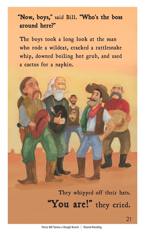 Book Preview For Pecos Bill Tames a Rough Bunch Page 21