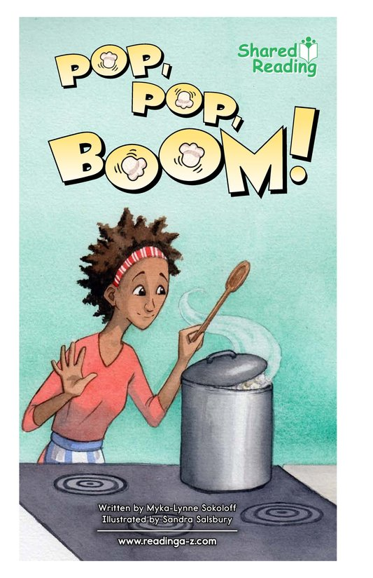 Book Preview For Pop, Pop, Boom! Page 1