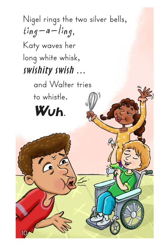 Book Preview For Walter Tries to Whistle Page 10