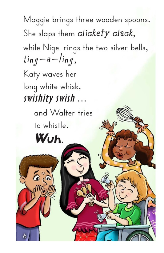 Book Preview For Walter Tries to Whistle Page 6