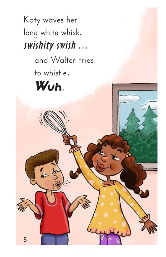 Book Preview For Walter Tries to Whistle Page 8