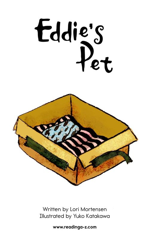 Book Preview For Eddie's Pet Page 2